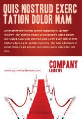 Careers/Industry: 红地毯路广告模板 #03221