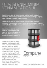 Business Concepts: Paper Case Shelf Ad Template #03253
