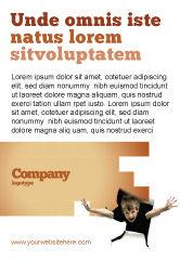 Business Concepts: Kinder Surprise Advertentie Template #03270