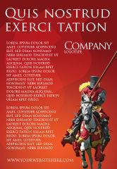 Education & Training: Knight Ad Template #03285