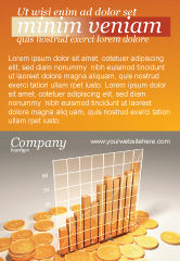 Financial/Accounting: Treasure Diagram Ad Template #03350