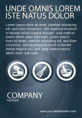 Medical: Modèle de Publicité de pharmacie #03359