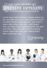 Medical: Arts-assistenten Advertentie Template #03390