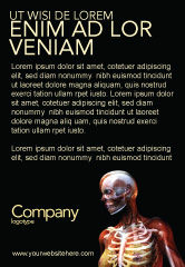Medical: Templat Periklanan Payudara Anatomi Wanita Dan Tulang Wajah #03404