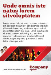 Sports: Strategy Game Advertentie Template #03405