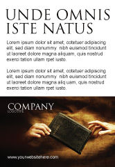 Religious/Spiritual: Plantilla de publicidad - cristianismo #03436