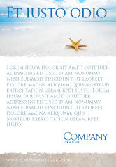 Nature & Environment: Zeester Advertentie Template #03456