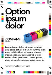 Careers/Industry: CMYK Ad Template #03474