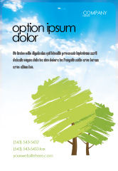 Nature & Environment: Groen Advertentie Template #03479