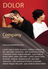 People: Quarrel Ad Template #03502