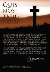 Religious/Spiritual: Memento Mori Ad Template #03510