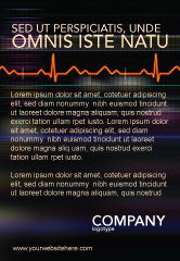 Medical: Electrocardiography Ad Template #03538
