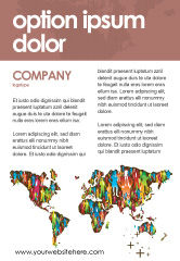 Global: World Diversity Ad Template #03543
