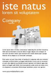 Business Concepts: 광고 템플릿 - 비즈니스 퍼즐 #03587
