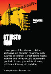 Construction: Building Set Ad Template #03600