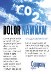 Nature & Environment: 炭酸 - 広告テンプレート #03601
