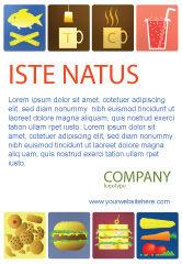Food & Beverage: Fast Food Ingredients Ad Template #03614