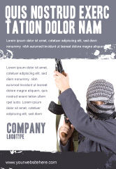 Military: Terrorist Ad Template #03632