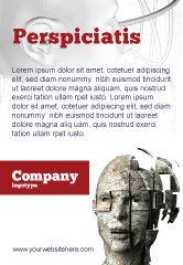 Technology, Science & Computers: Plantilla de publicidad - cibernético #03634