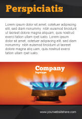 Careers/Industry: Gas Stove Ad Template #03675