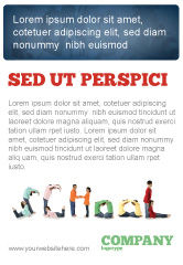 Education & Training: School Word Ad Template #03693