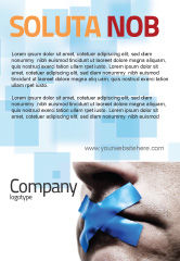 Consulting: Stilte Advertentie Template #03710