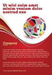 Sports: Weltmeisterschaft Anzeigenvorlage #03743