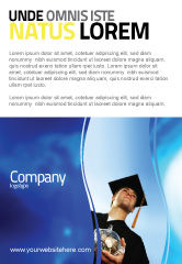 People: Paid Education Ad Template #03753
