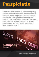Financial/Accounting: Electronic Payment Card Ad Template #03781