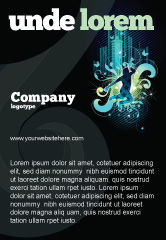 Art & Entertainment: Night City Life Ad Template #03856