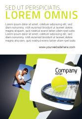 Sports: 网球广告模板 #03918