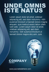 Global: Technologisch Proces Advertentie Template #03929
