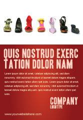 Careers/Industry: Templat Periklanan Sepatu Wanita #03937