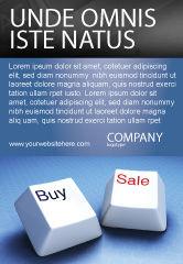Business Concepts: 電子商取引 - 広告テンプレート #03949