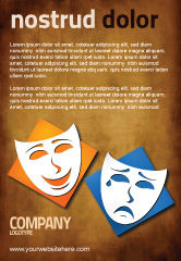 Art & Entertainment: Drama Ad Template #03957