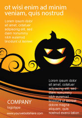 Holiday/Special Occasion: Halloween is Near Ad Template #03967