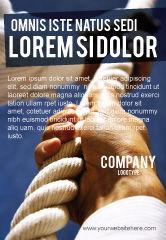 Business Concepts: Omhoog Klimmen Advertentie Template #03977