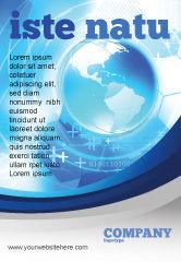 Global: Communicatie Media Advertentie Template #04028