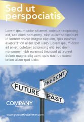 Business Concepts: Future Past Ad Template #04063