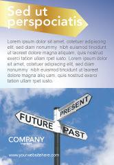 Business Concepts: Modelo de Anúncio - passado futuro #04063