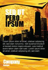 Construction: Modèle de Publicité de horizon d'une ville #04096