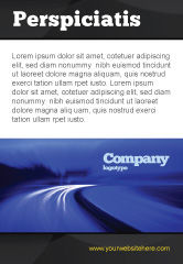 Consulting: Blue Schemering Beweging Advertentie Template #04102