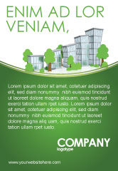 Construction: グリーン地区 - 広告テンプレート #04147