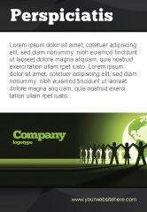 Global: Plantilla de publicidad - unidad mundial #04151