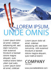 Sports: スキー - 広告テンプレート #04169