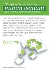 Business Concepts: Recycling-technologie Anzeigenvorlage #04181