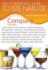 Food & Beverage: Strong Drinks Ad Template #04199