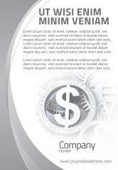 Financial/Accounting: Wereld Harde Valuta Advertentie Template #04203