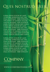 Nature & Environment: 竹林广告模板 #04227