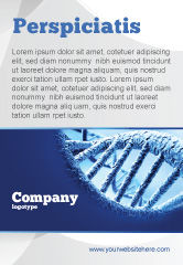 Medical: DNA Molecular Structure Ad Template #04245